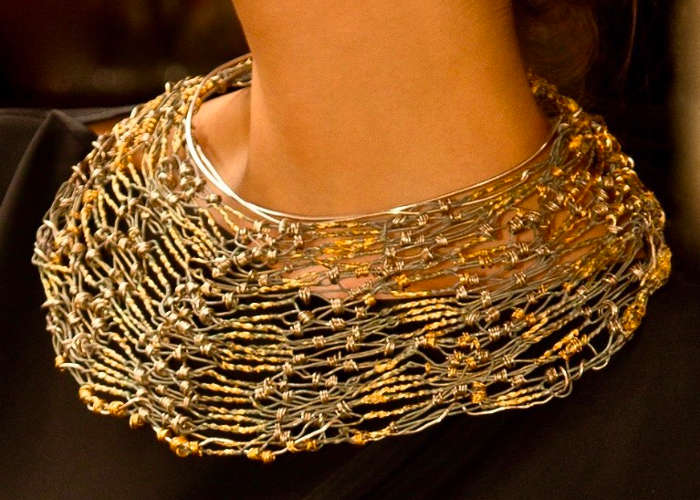 Collier fée d'or, créé par a marque Rouge d'Or