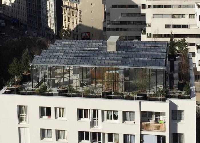 Une ferme urbaine sur les toits de Paris