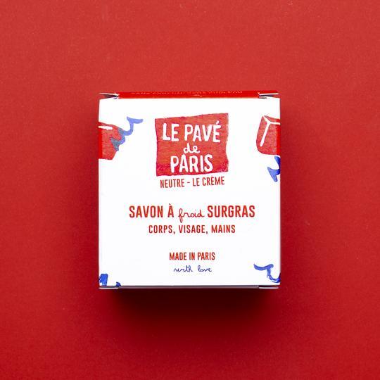 Boite du savon pavé de Paris